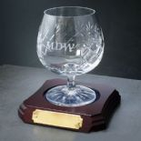 Personalised Brandy and Sherry Glasses